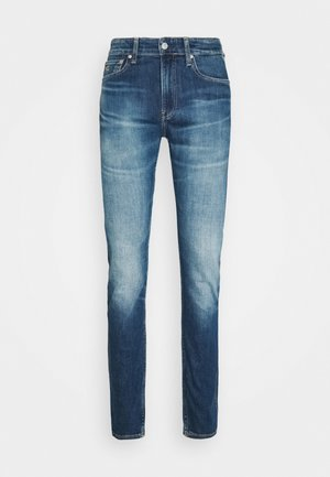 SLIM TAPER - Jeans fuselé - bright blue