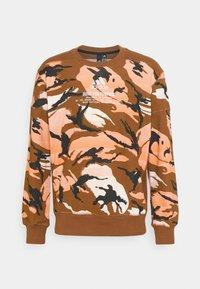 adidas Performance - ZNE CREW - Sweatshirt - brown - 4