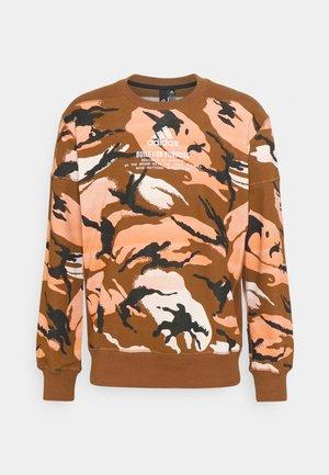 ZNE CREW - Sweatshirt - brown