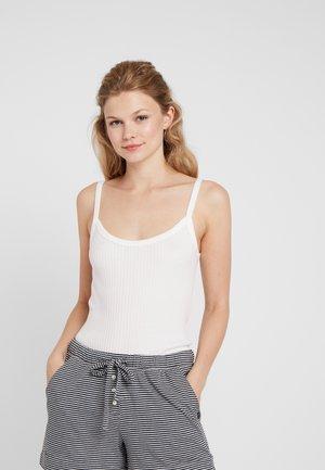SPAGHETTITRÄGER - Pyjama top - off-white