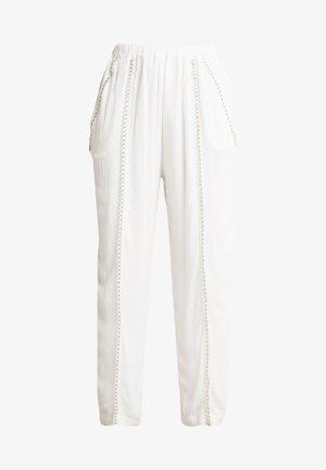 EGINI - Trousers - white