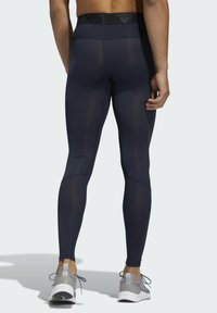 adidas Performance - TECHFIT LONG TIGHTS - Leggings - blue - 1