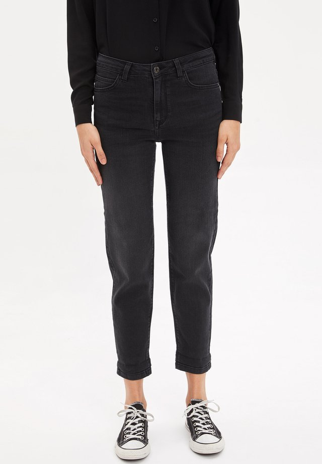 Jeans a sigaretta - anthracite