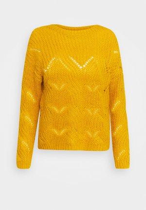 ONLHAVANA - Strikkegenser - golden yellow