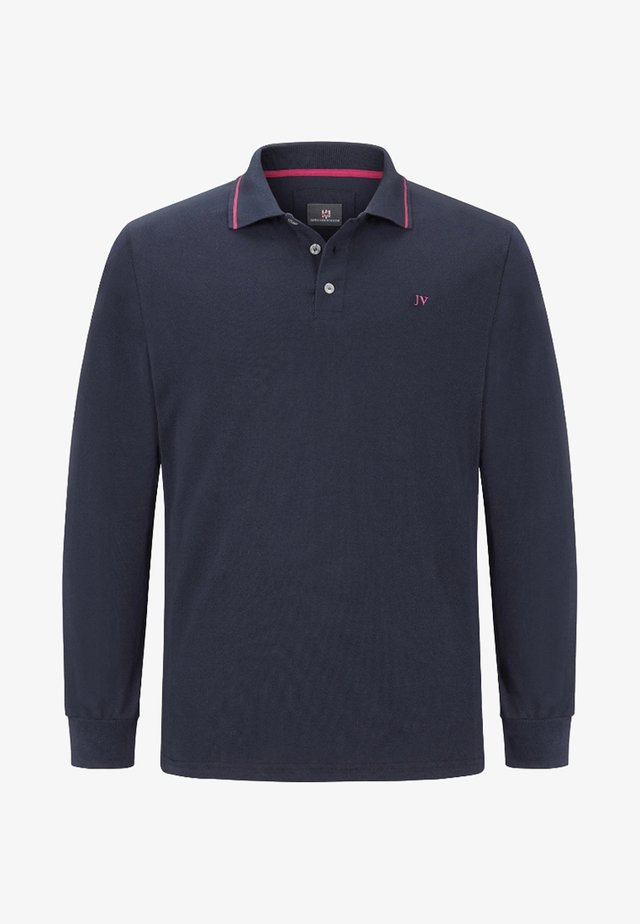 ELLIS - Polo - navy fuchsia