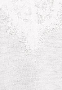 Esprit Collection - FLOW VNECK - Top - off white - 2