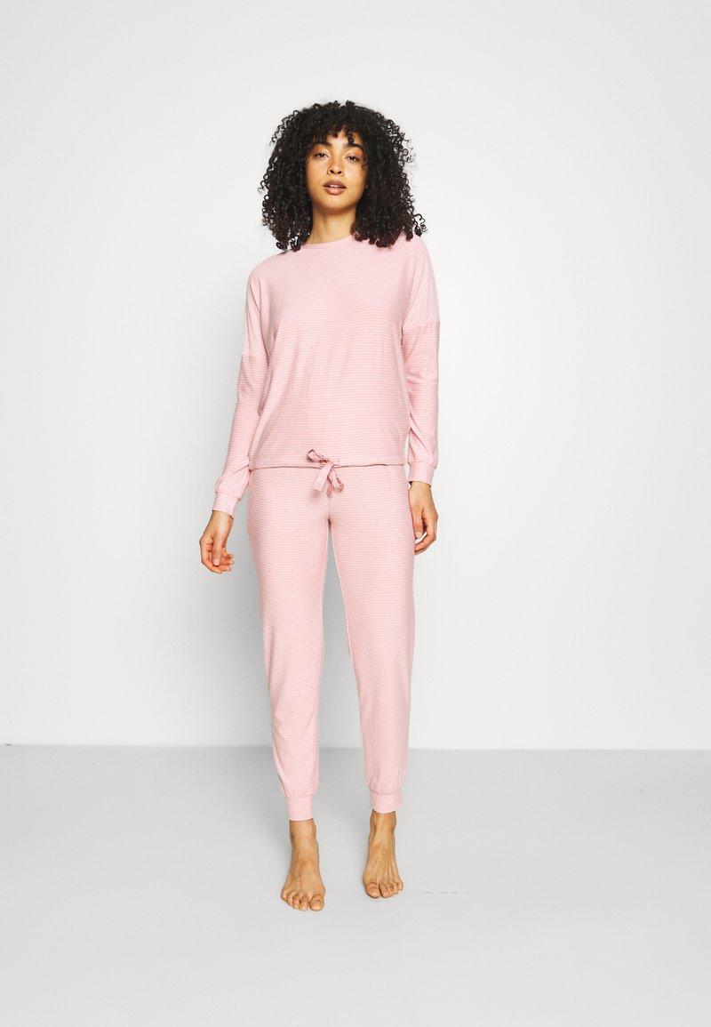 Women Secret - STRIPES - Pyjamas - light pink