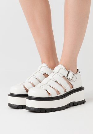 VEGAN DIODE - Nazouvací boty - white