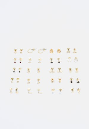 ROSALIE EARRINGS 20 PACK - Øreringe - gold-coloured