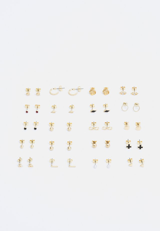 ROSALIE EARRINGS 20 PACK - Boucles d'oreilles - gold-coloured
