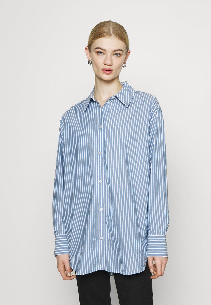 Weekday - EDYN - Button-down blouse - blue