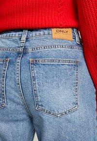 ONLY - ONLEMILY ANKLE - Džíny Straight Fit - medium blue denim - 5