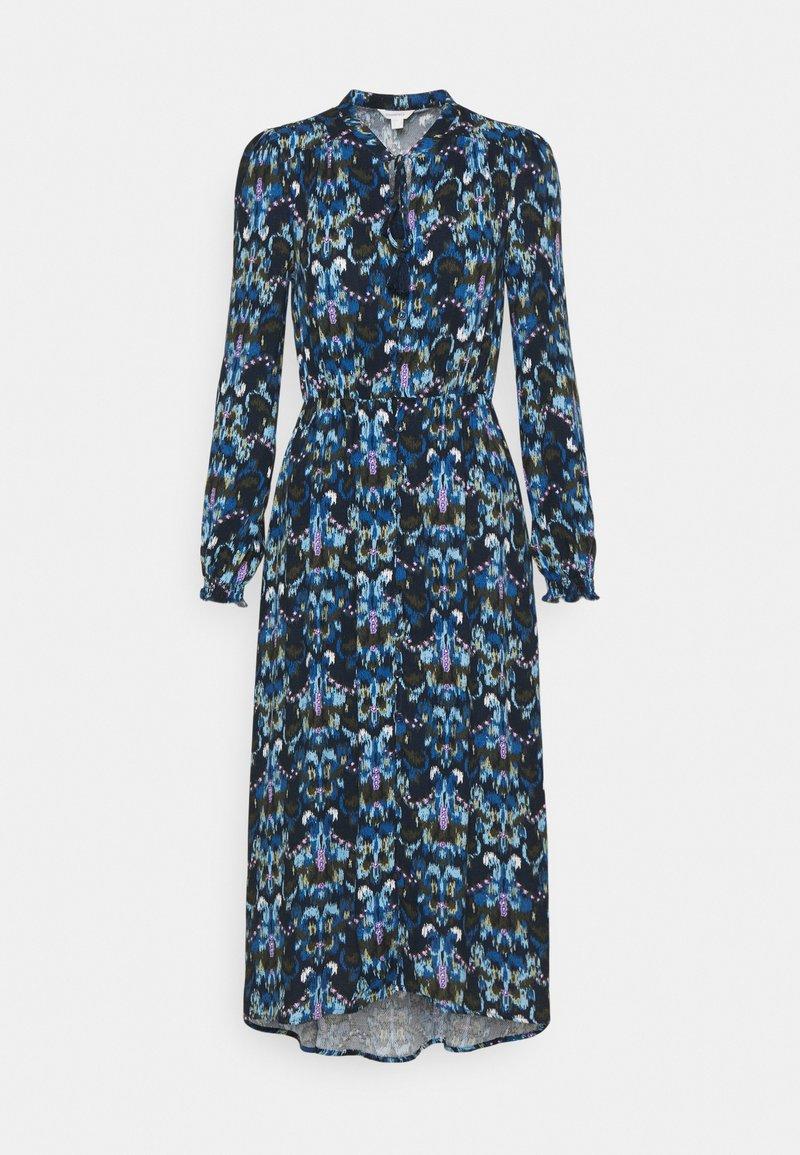 Springfield - VESTIDO MIDI ASIMETRI - Day dress - light blue