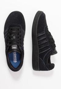 K-SWISS - COURT CHESWICK  - Trainers - black/charcoal - 3