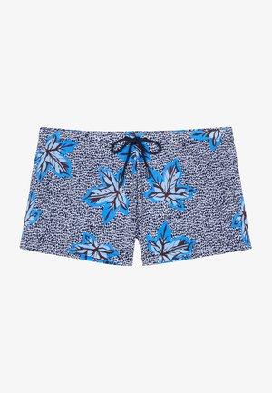 Swimming shorts - navy print