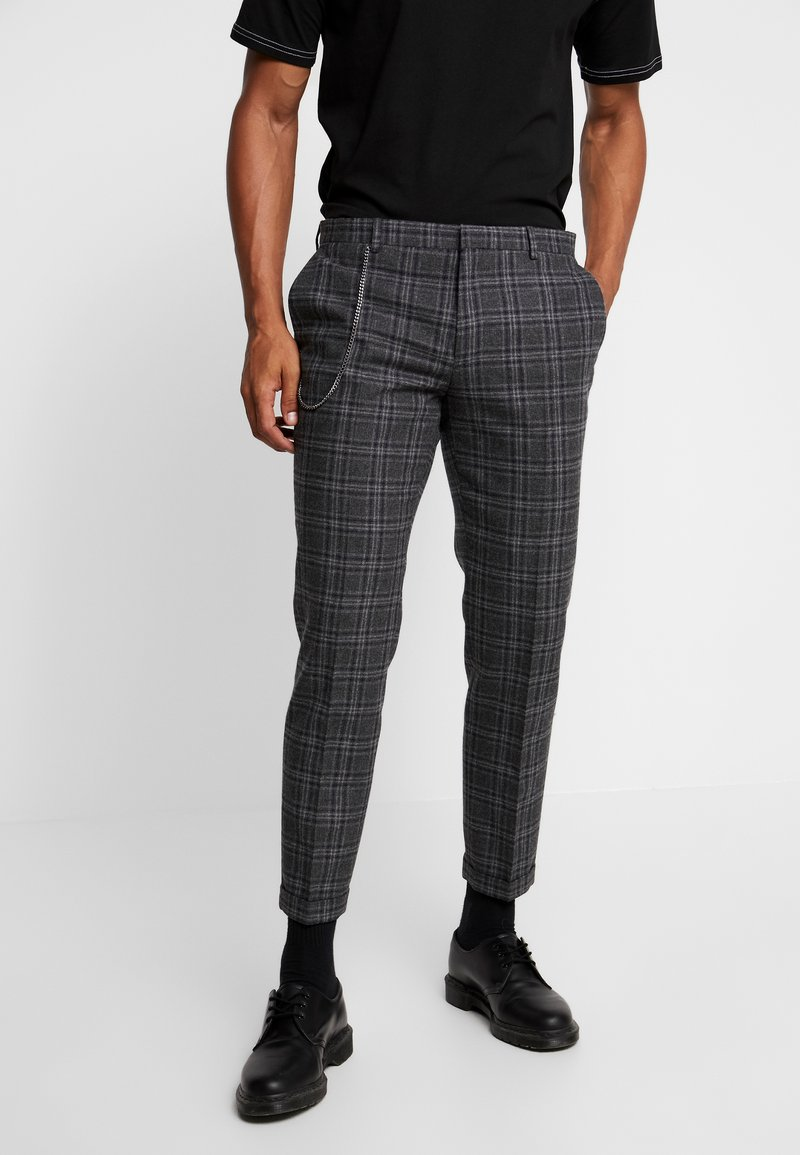 Shelby & Sons - SALTLEY TURN UP  - Trousers - grey