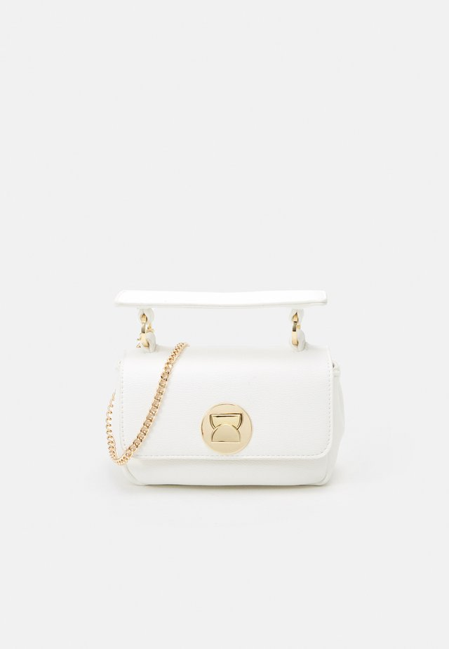 AVERY MINI STRUCTURED TOP HANDEL BAG - Käsilaukku - white