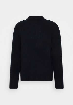 MIX TATE TURTLENECK  - Stickad tröja - navy