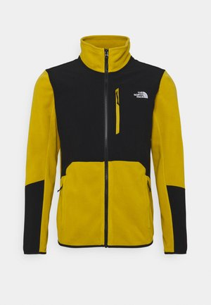 GLACIER PRO FULL ZIP - Giacca in pile - matchagreen/black