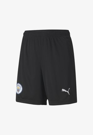 Sports shorts - puma black-asphalt