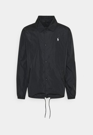 PLAINWEAVE COACHS JACKET - Summer jacket - black