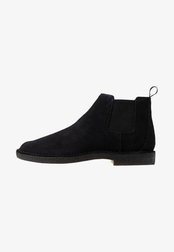 DESERT CHELSEA - Classic ankle boots - black