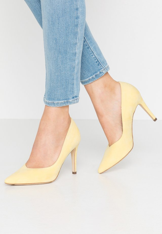 DANELLA - High heels - lemon