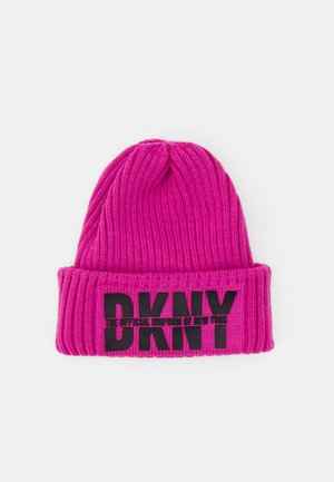 PULL ON HAT UNISEX - Beanie - fuschia