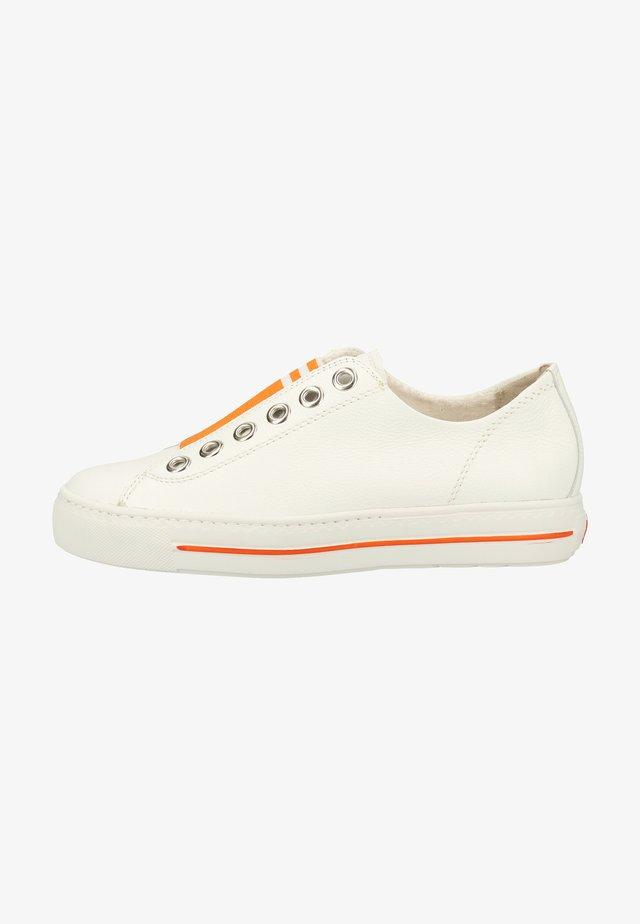 Sneaker low - white/orange