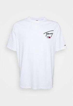COLLEGIATETEE - T-shirt con stampa - white