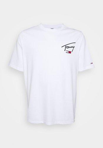COLLEGIATETEE - Print T-shirt - white