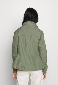 Ragwear - APOLI - Summer jacket - dusty green - 2