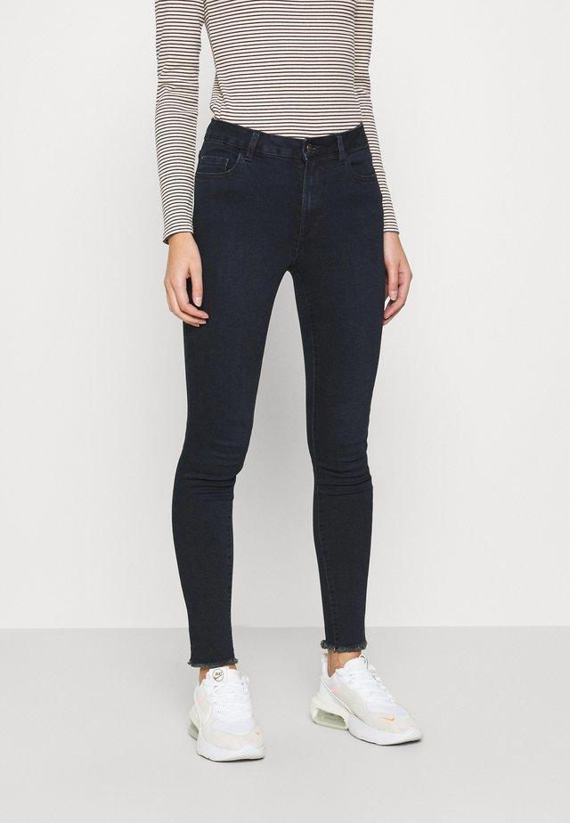 RAW HEM ALEX - Straight leg jeans - blue/black