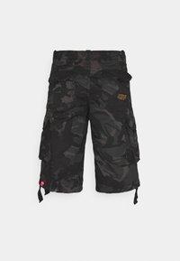 Alpha Industries - JET CAMO - Shorts - black - 7