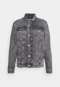 Calvin Klein Jeans - FOUNDATION JACKET - Džínová bunda - grey - 4