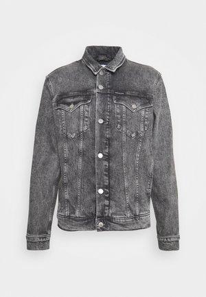 FOUNDATION JACKET - Denim jacket - grey