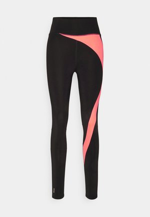 ONPMALIA TRAIN TIGHTS - Medias - blue graphite/neon orange