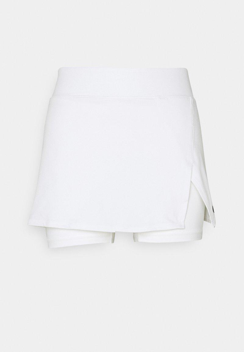 Nike Performance - SKIRT  - Sports skirt - white/black