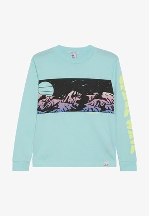 LONG SLEEVE WITH PLACED ARTWORKS - Long sleeved top - surf