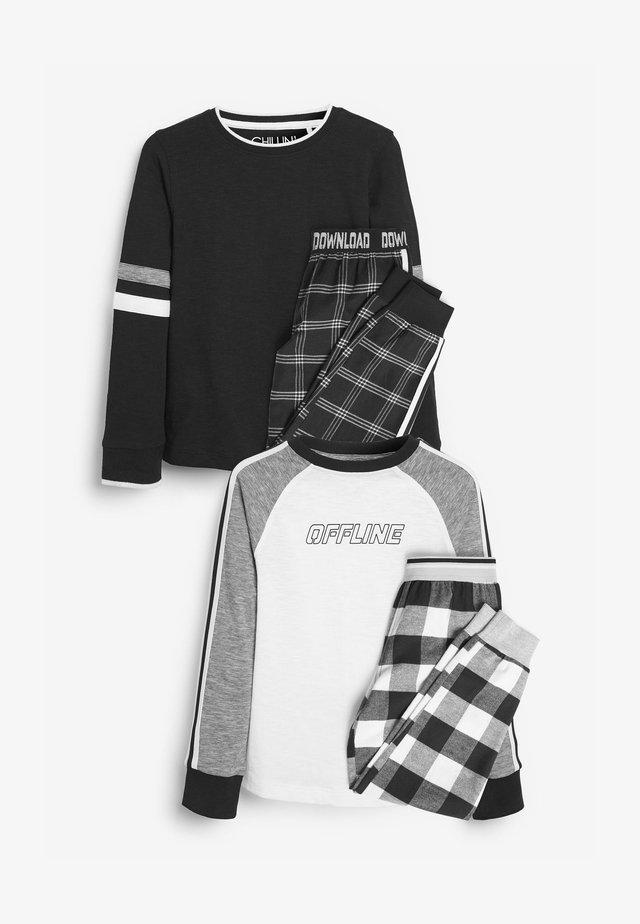 2 PACK - Pijama - black