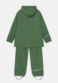 CeLaVi - BASIC RAINWEAR SET UNISEX - Waterproof jacket - elm green - 1