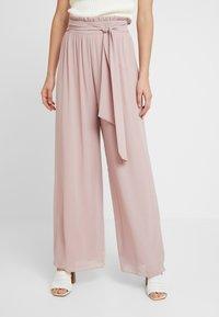 TFNC - JOANA PANTS - Trousers - pale mauve - 0