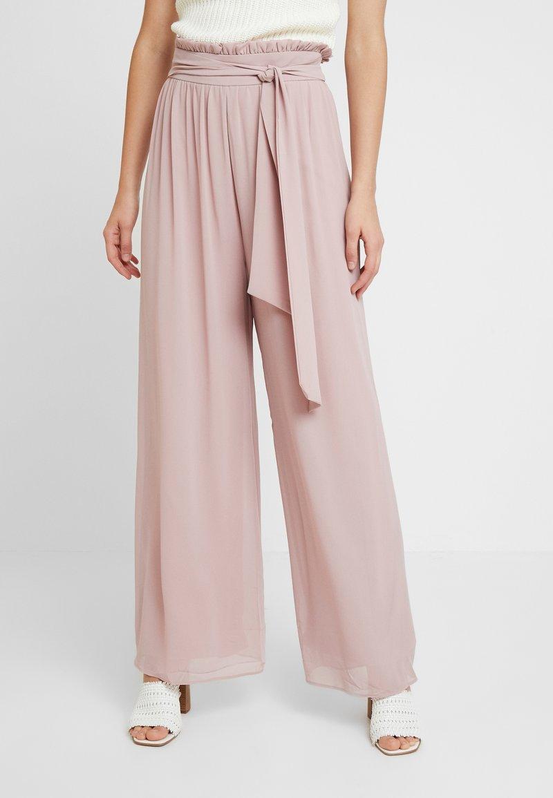 TFNC - JOANA PANTS - Trousers - pale mauve