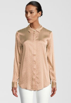 Button-down blouse - cosmic sky
