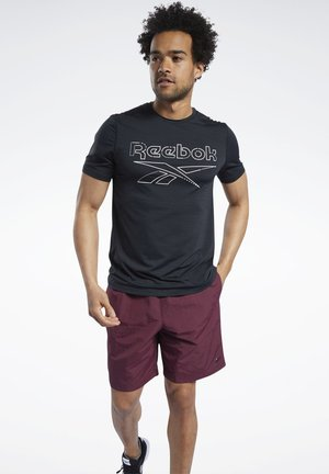 WORKOUT READY ACTIVCHILL - T-shirt med print - black