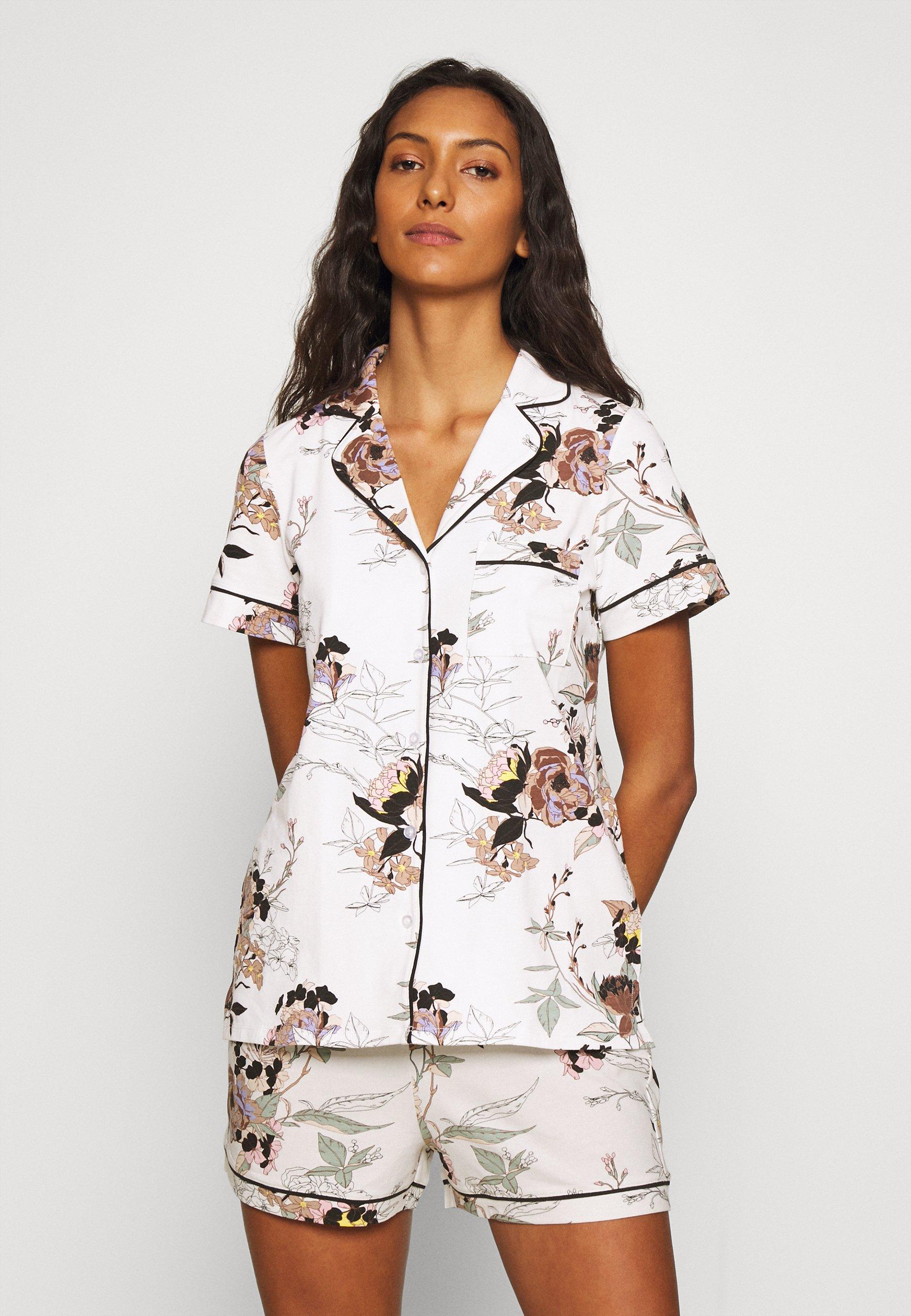 Damen SOFT PRINTED PIPING  - Pyjama