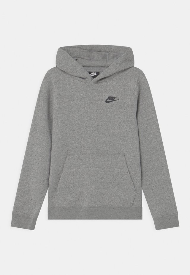 REGRIND UNISEX - Hoodie - mottled dark grey