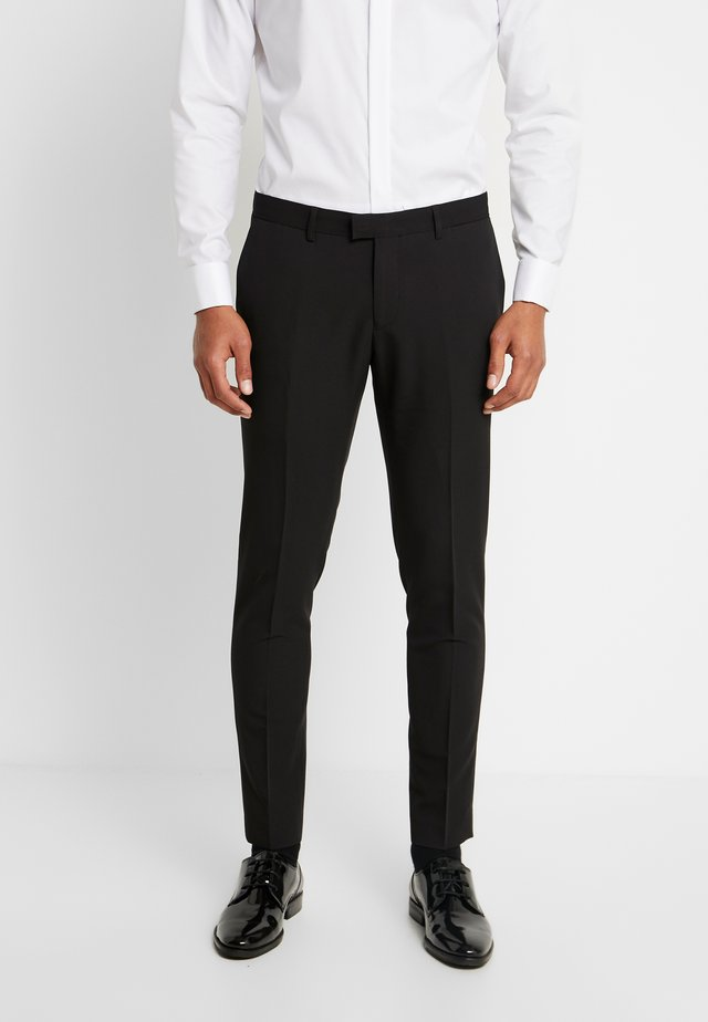 PANTALONE - Suit trousers - black
