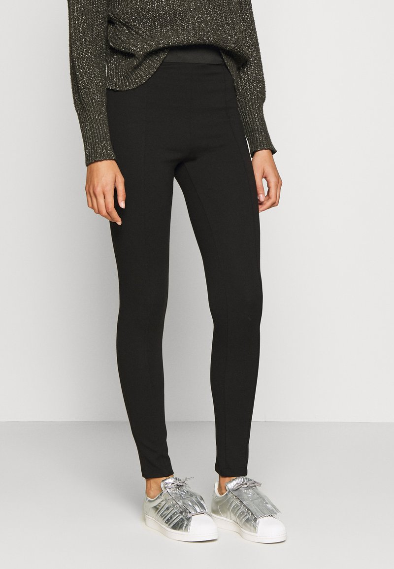 Anna Field Tall - Leggings - Trousers - black