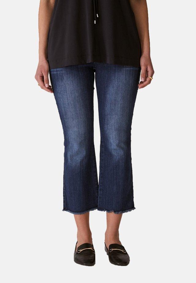 KICK  - Jeans a zampa - blu